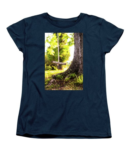Women's T-Shirt (Standard Cut) featuring the photograph Summer Memories On The Farm by Shelby Young