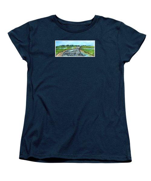 Summer On Lieutenant's Island Women's T-Shirt (Standard Cut) by Rita Brown