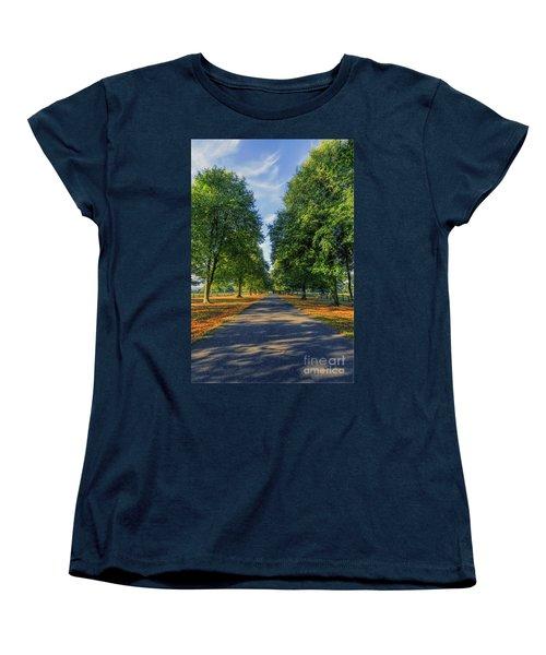 Summer Road Women's T-Shirt (Standard Cut) by Ian Mitchell