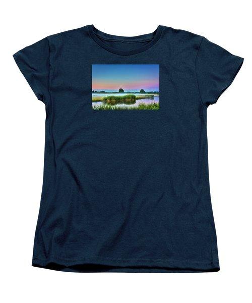 Summer Sunrise Women's T-Shirt (Standard Cut) by Nadia Sanowar