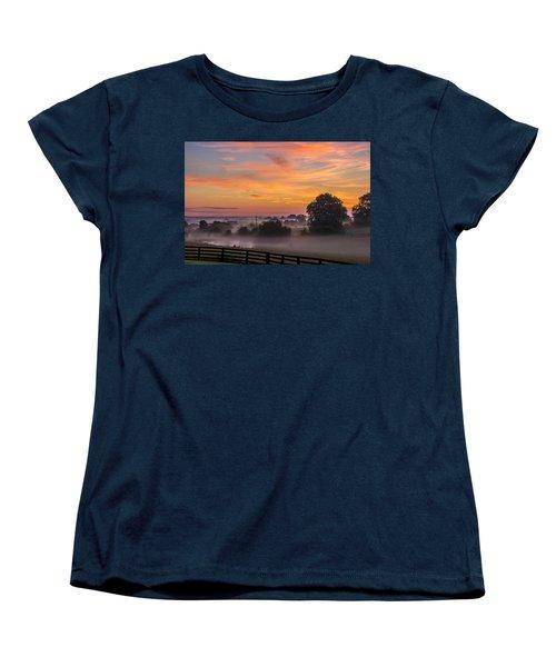 Summer Sunrise Women's T-Shirt (Standard Cut)