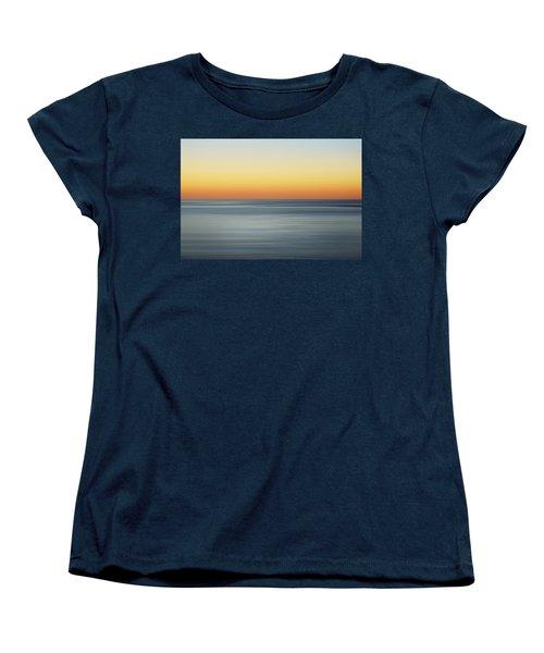Summer Sunset Women's T-Shirt (Standard Cut) by Az Jackson