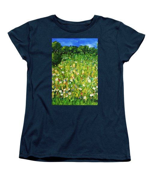 The Glade Women's T-Shirt (Standard Cut) by Evelina Popilian