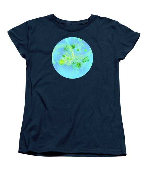 Summer Tree Of Life Women's T-Shirt (Standard Cut) by Menega Sabidussi