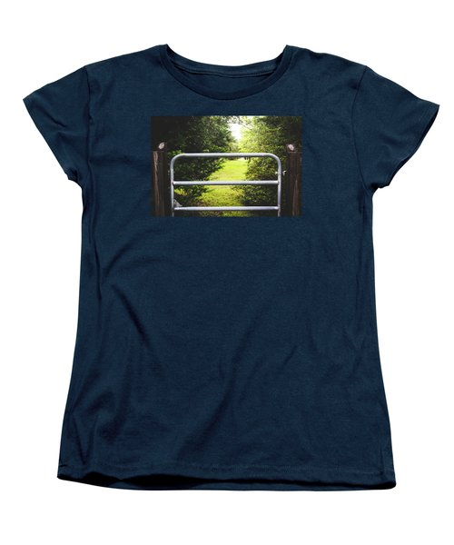 Women's T-Shirt (Standard Cut) featuring the photograph Summer Vibes On The Farm by Shelby Young