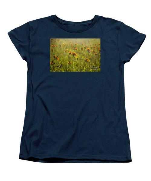 Summer Wildflowers Women's T-Shirt (Standard Cut) by Diane Diederich