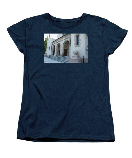 Summerall Chapel II Women's T-Shirt (Standard Cut) by Ed Waldrop