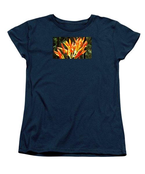 Sun Burst Women's T-Shirt (Standard Cut) by Jake Hartz