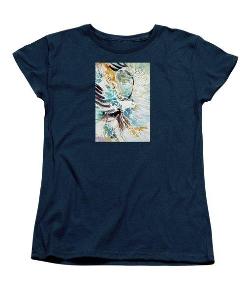 Sun Moon Water Sky Women's T-Shirt (Standard Cut)
