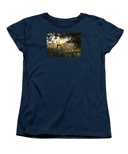 Sun Sign Women's T-Shirt (Standard Cut) by RKAB Works