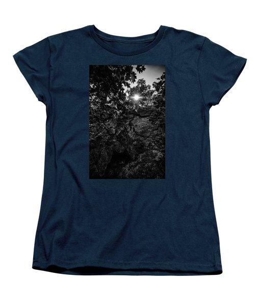 Sun Through The Trees Women's T-Shirt (Standard Cut) by Paul Seymour