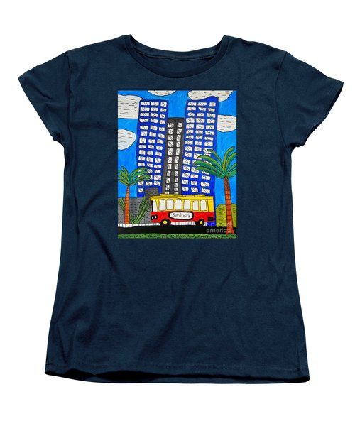 Sun Trolley Women's T-Shirt (Standard Cut) by Brandon Drucker