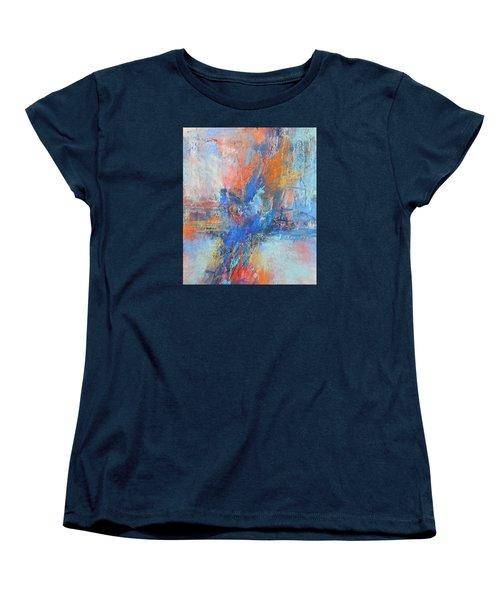 Sunburn Women's T-Shirt (Standard Cut) by Becky Chappell