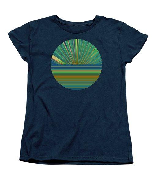 Sunburst Women's T-Shirt (Standard Cut) by Michelle Calkins