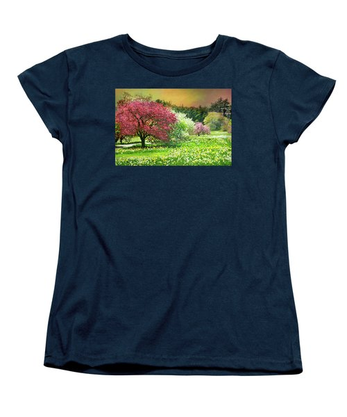 Women's T-Shirt (Standard Cut) featuring the photograph Sunday My Day by Diana Angstadt