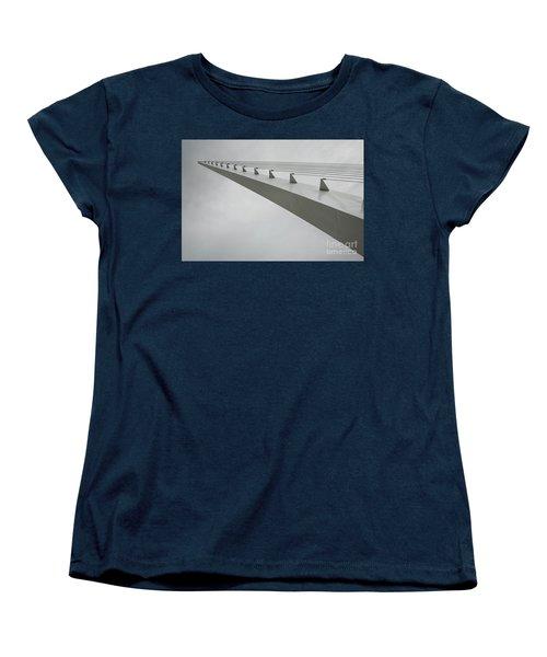 Sundial Perspective Women's T-Shirt (Standard Cut) by Carol Lynn Coronios