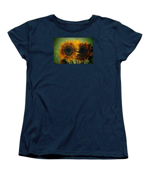 Sunflower 2 Women's T-Shirt (Standard Cut) by Simone Ochrym