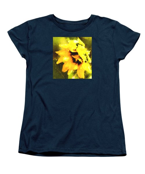 Women's T-Shirt (Standard Cut) featuring the photograph Sunflower by Cathy Donohoue