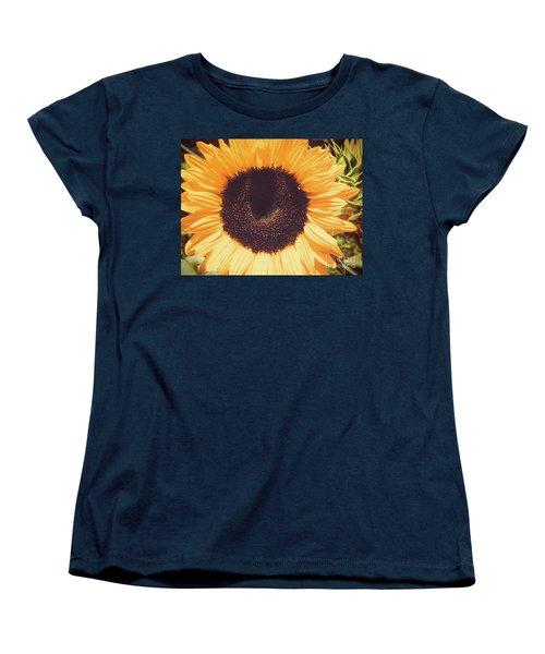 Sunflower Women's T-Shirt (Standard Cut) by Scott and Dixie Wiley