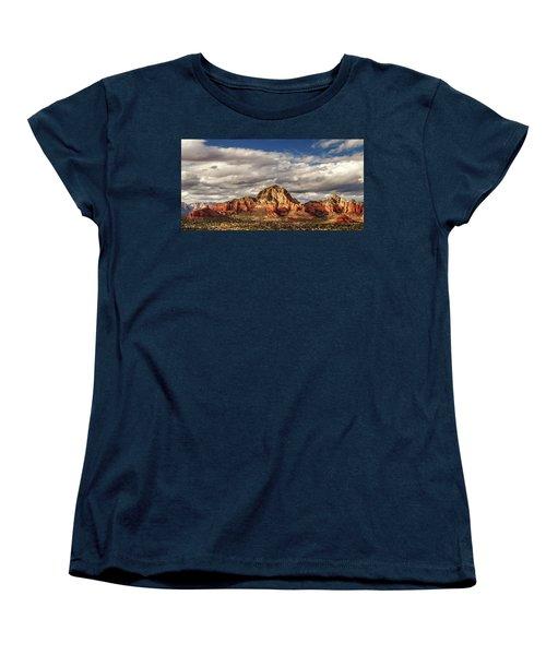 Sunlight On Sedona Women's T-Shirt (Standard Cut) by James Eddy