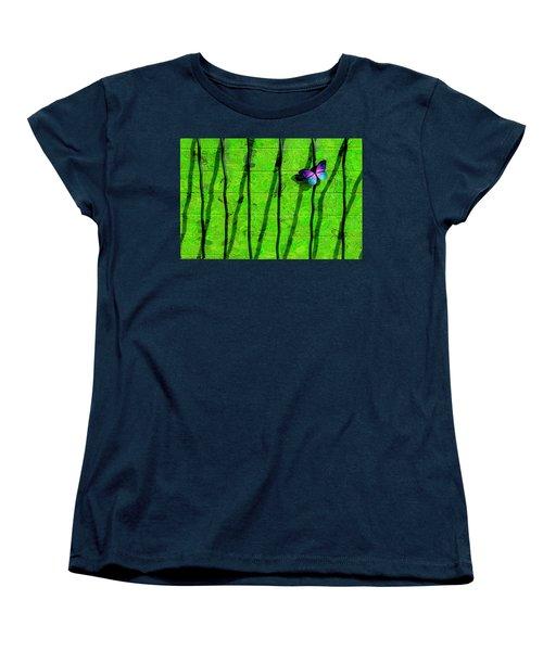 Women's T-Shirt (Standard Cut) featuring the photograph Sunning by Paul Wear