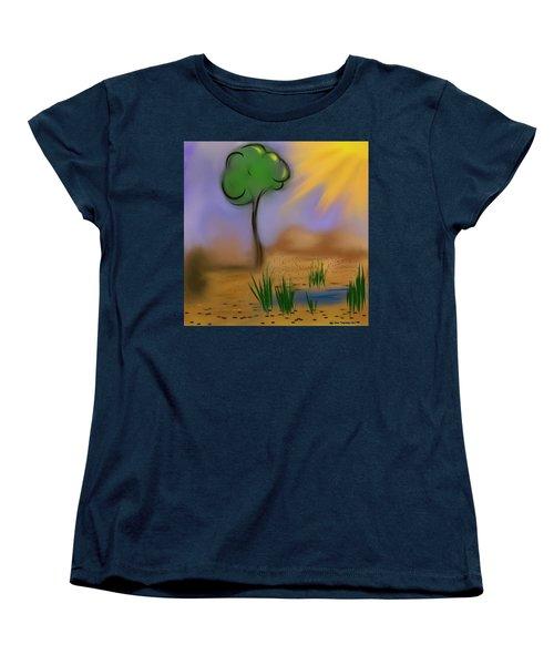 Sunny Day Women's T-Shirt (Standard Cut) by Dan Twyman