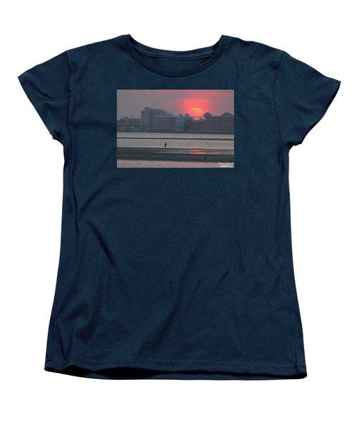 Sunrise And Skyline Women's T-Shirt (Standard Cut)