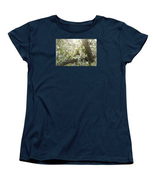 Sunrise Blossoms Women's T-Shirt (Standard Cut) by Mary Angelini