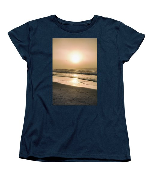 Women's T-Shirt (Standard Cut) featuring the photograph Sunrise In Orange Beach  by John McGraw