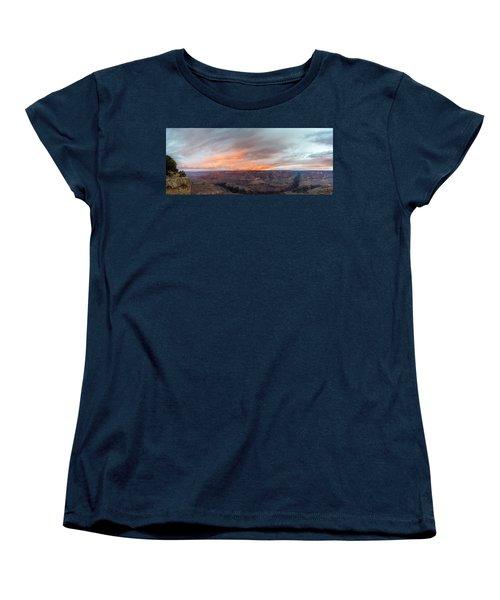 Sunrise In The Canyon Women's T-Shirt (Standard Cut) by Jon Glaser