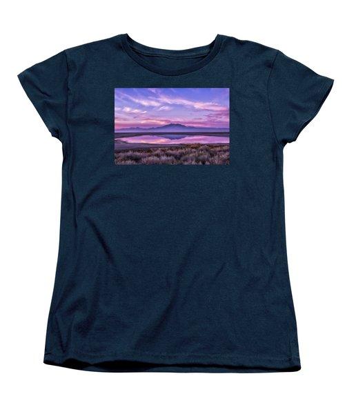 Sunrise On Antelope Island Women's T-Shirt (Standard Cut)