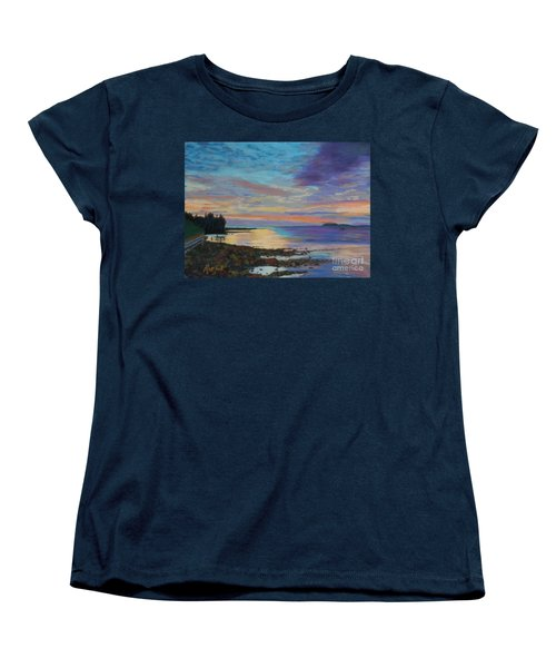 Sunrise On Tancook Island  Women's T-Shirt (Standard Cut) by Rae  Smith PAC