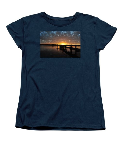 Sunrise On The Bayou Women's T-Shirt (Standard Cut) by Michele Kaiser