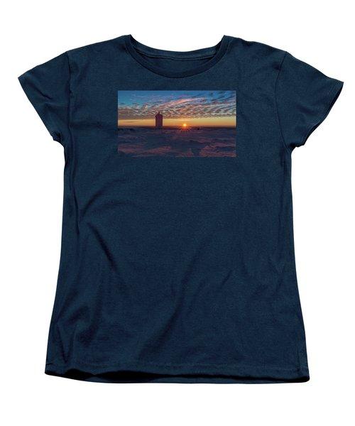 Sunrise On The Brocken, Harz Women's T-Shirt (Standard Cut) by Andreas Levi