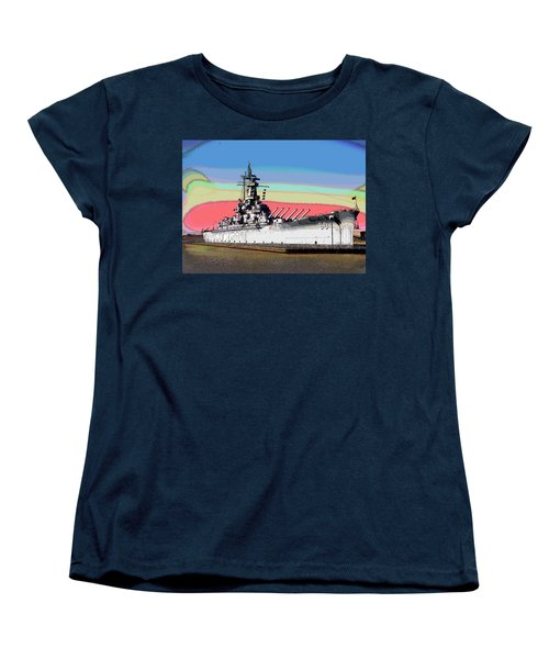 Sunrise Over The Alabama Women's T-Shirt (Standard Cut) by Charles Shoup