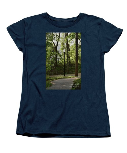 Women's T-Shirt (Standard Cut) featuring the photograph Sunrise Service by Skip Willits