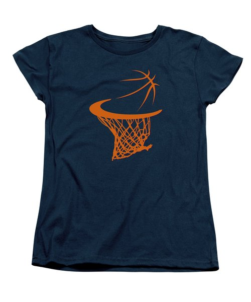 Suns Basketball Hoop Women's T-Shirt (Standard Cut) by Joe Hamilton