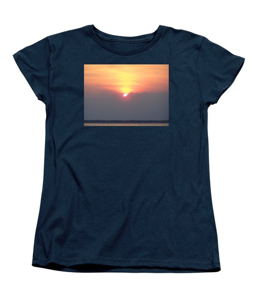 Women's T-Shirt (Standard Cut) featuring the photograph Sunset And The Storm by Sandi OReilly