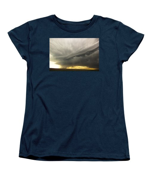 Sunset At Dalhart Texas Women's T-Shirt (Standard Cut) by Ryan Crouse