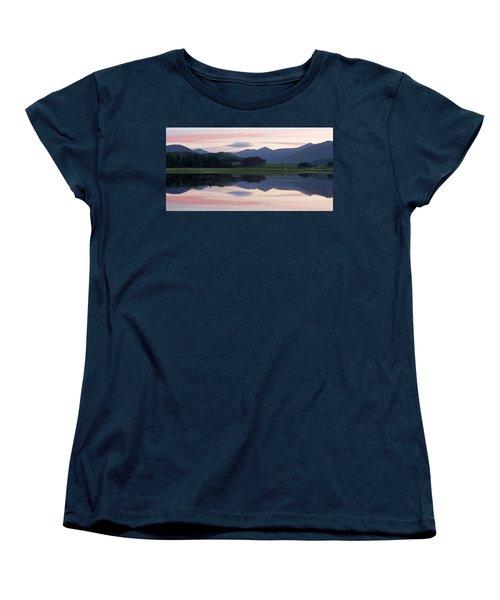 Sunset At Loch Tulla Women's T-Shirt (Standard Cut) by Stephen Taylor