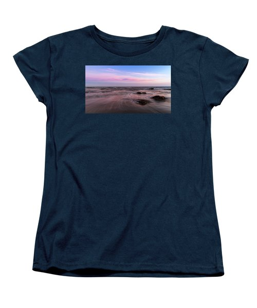 Sunset At The Atlantic Women's T-Shirt (Standard Cut) by Andreas Levi