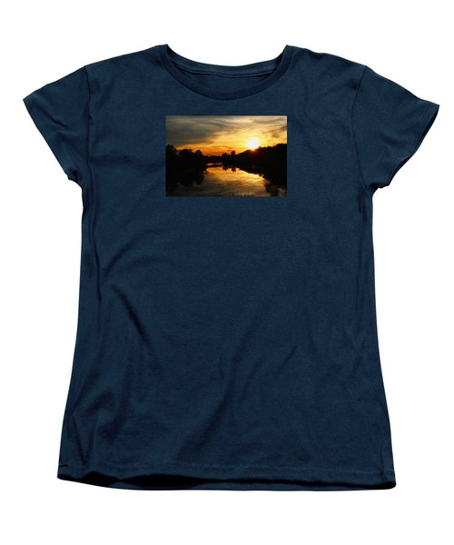 Sunset Bliss Women's T-Shirt (Standard Cut) by Robert Carey