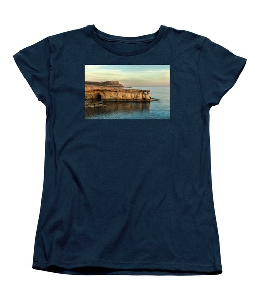 Sunset By The Cape Women's T-Shirt (Standard Cut) by Mike Santis