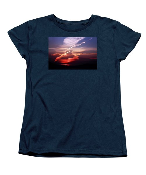 Sunset Dance Women's T-Shirt (Standard Cut) by Aidan Moran