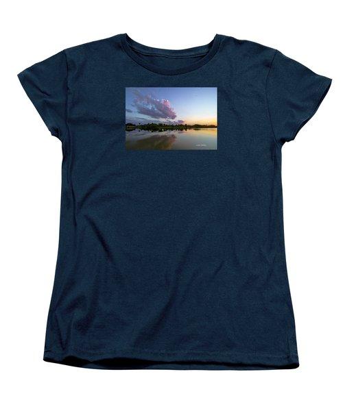 Sunset Glow Women's T-Shirt (Standard Cut)