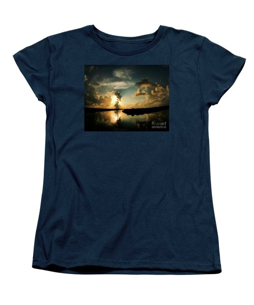 Sunset In Lacombe, La Women's T-Shirt (Standard Cut) by Luana K Perez