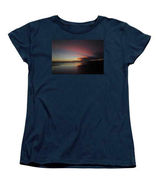 Sunset Las Lajas Women's T-Shirt (Standard Cut) by Daniel Reed