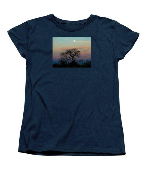 Sunset Moon Women's T-Shirt (Standard Cut)
