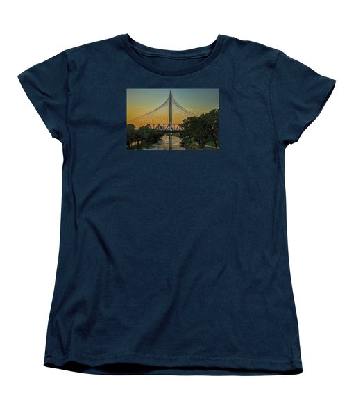 Sunset On The Trinity Women's T-Shirt (Standard Cut) by Diana Mary Sharpton