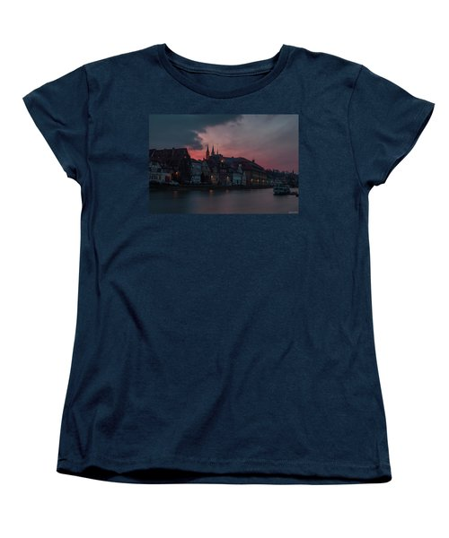 Sunset Over Bamberg Women's T-Shirt (Standard Cut) by Photo Escape